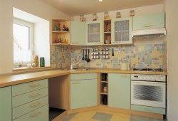 Фото - Плитка на підлогу для кухні: модні тенденції