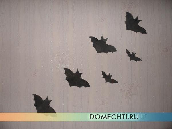 Падалка кажанів на Хеллоуїн