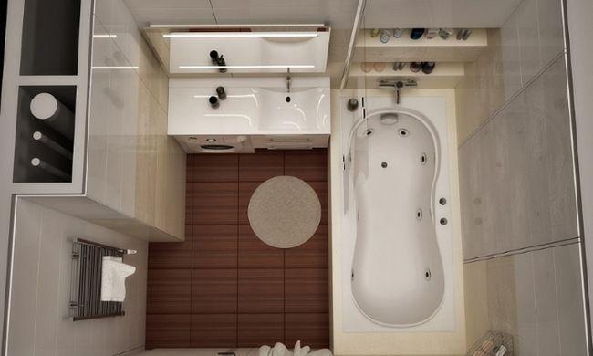 Фото - Відповідна плитка і ідеї для ванної кімнати невеликих розмірів