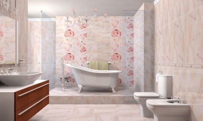 Ванна в романтичному стилі