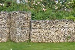 Підпірна стіна з габіонів