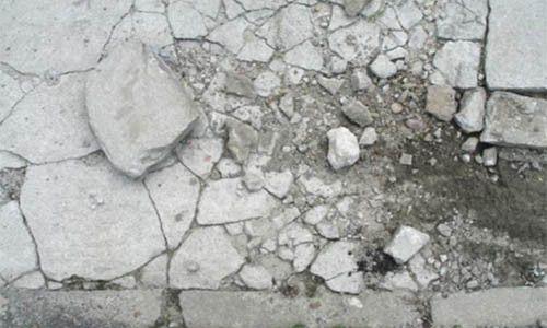 Фарбування бетону на вулиці