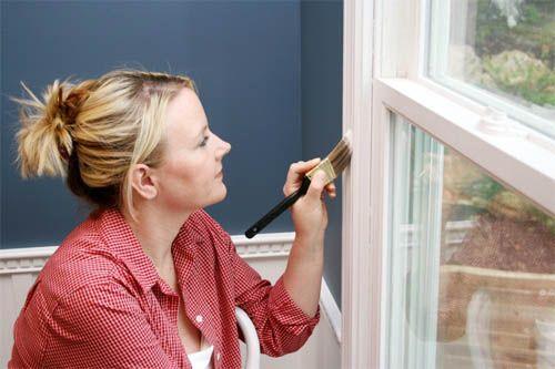 Фото - Фарбування дерев'яних віконних рам своїми руками