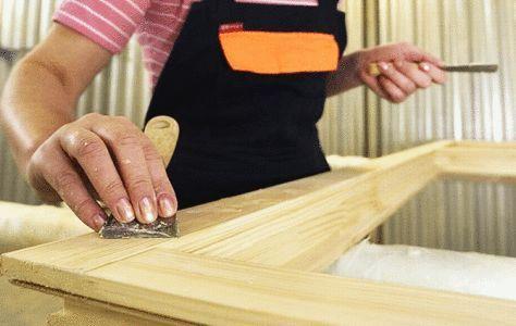 Фото - Фарбування і обробка дерев'яних вікон