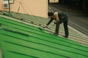 фарбуємо дах