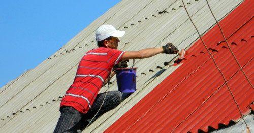 Фото - Фарбування металевого даху