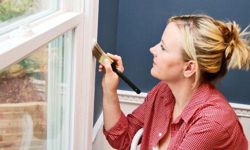 Фото - Фарбування вікон