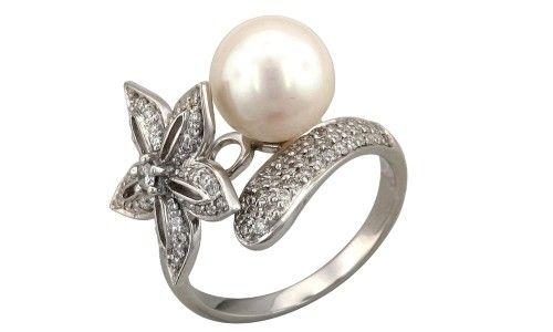Фото - Купуємо кільце зі срібла з перлами: особливості каменю і правила догляду