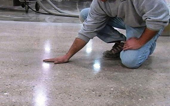 Переваги полірування бетону