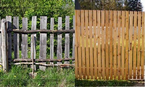 Фото - Повний або частковий демонтаж старого паркану