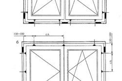 Приклад розташування опорних (несучих) колодок і кріпильних деталей