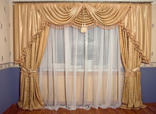 Фото - Пошиття гардин на вікно своїми руками