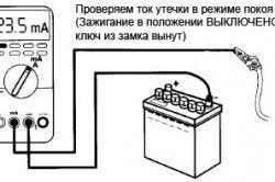 Перевірка струму витоку