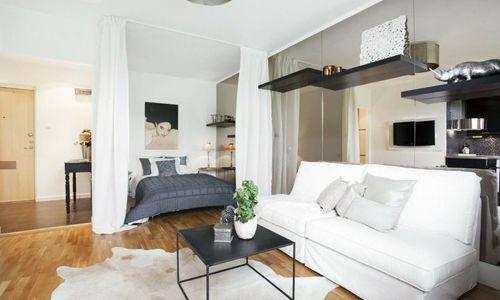 Фото - Правила поділу кімнати на спальню і вітальню