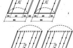 Схема посадки баклажанів в теплиці