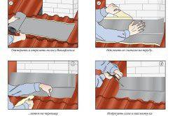 Гідроізоляція нижній частині труби даху