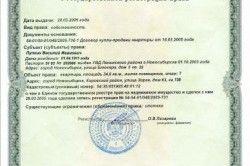 Свідоцтво про державну реєстрацію права власності