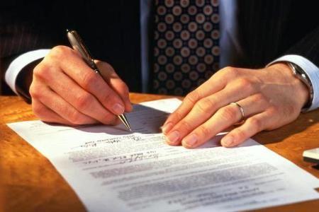 Написання заяви в суд