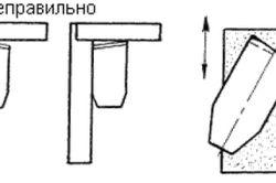 Фото - Правильний кут заточення ножа для рубанка і особливості проведення робіт