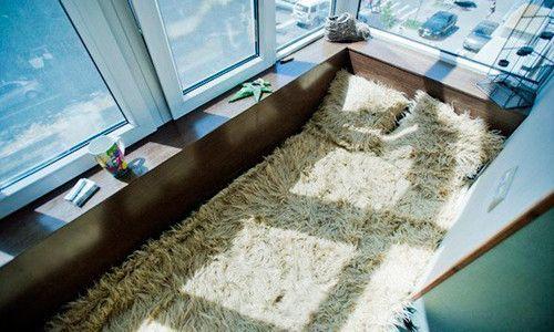 Фото - Перетворення лоджії в спальню