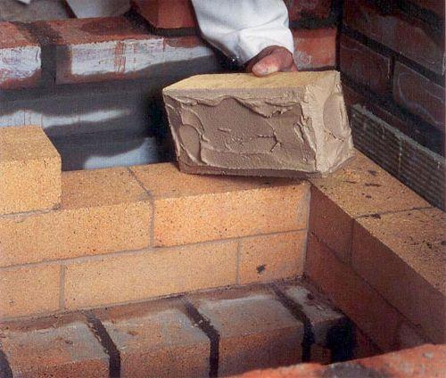 Фото - Приготування розчину для кладки каміна