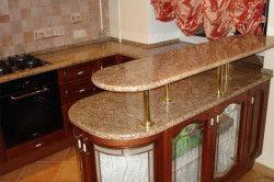 Барна стійка на кухні