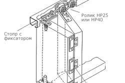 Фото - Процес установки двері гармошка своїми руками
