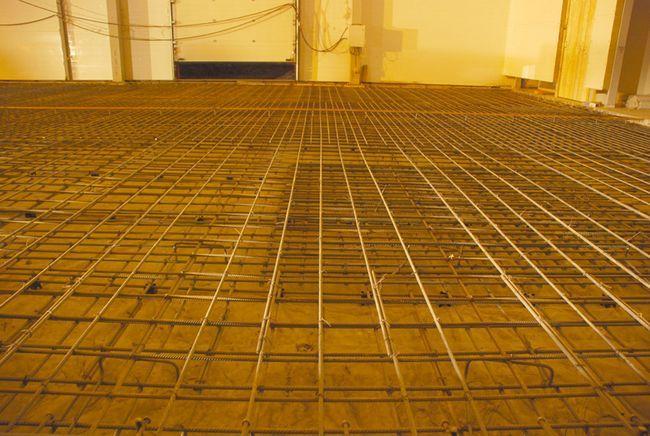 промислові підлоги пристрій