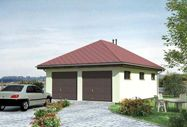 Фото - Проект будівництва гаража на дві машини