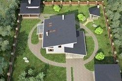 проекти будинків з односхилим дахом