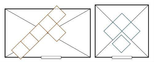 укладка плитки по діагоналі