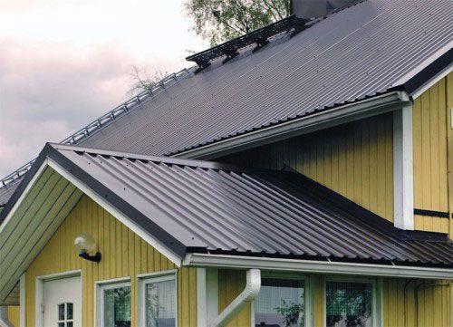 Фото - Профнастил - ідеальний варіант для даху