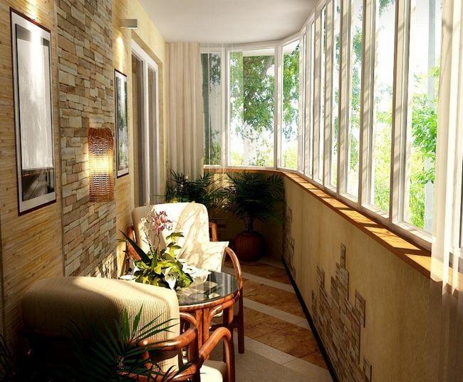 Фото - Роботи зі створення інтер'єру балкона