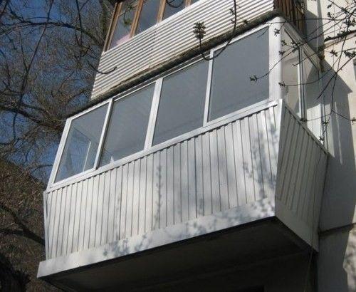 Фото - Роботи по збільшенню балкона в хрущовці