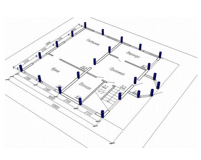 Фото - Розрахунок буронабивної фундаменту
