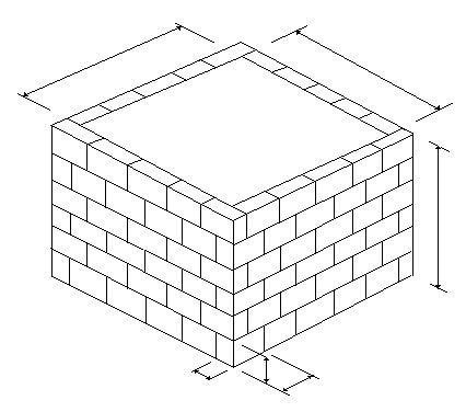 Фото - Розрахунок кількості піноблоків для будівництва будинку