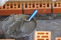Цементний розчин для кладки цегли