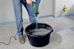 Приготування цементного розчину