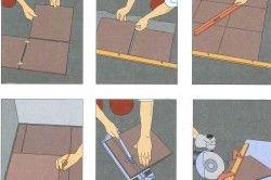 Етапи укладання плитки