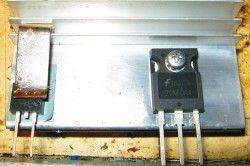 Транзистор зварювального інвертора