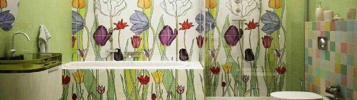 Фото - Різні варіанти плитки для ванної кімнати
