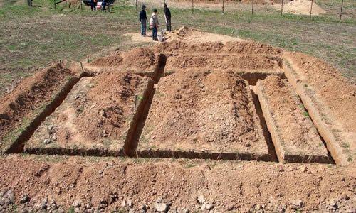 Фото - Розмітка - перша сходинка будівництва фундаменту