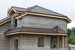 терміни будівництва будинку з пінобетону і газобетону