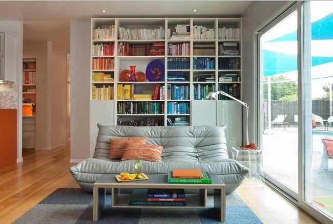 Фото - Різноманітність систем зберігання для книг і дрібниць