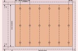 Схема пошиття класичних штор