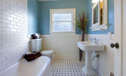 Мінімалістичний дизайн ванної
