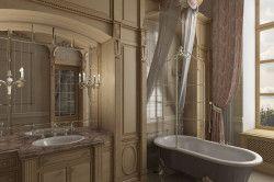 Дизайн ванної в вікторіанському стилі