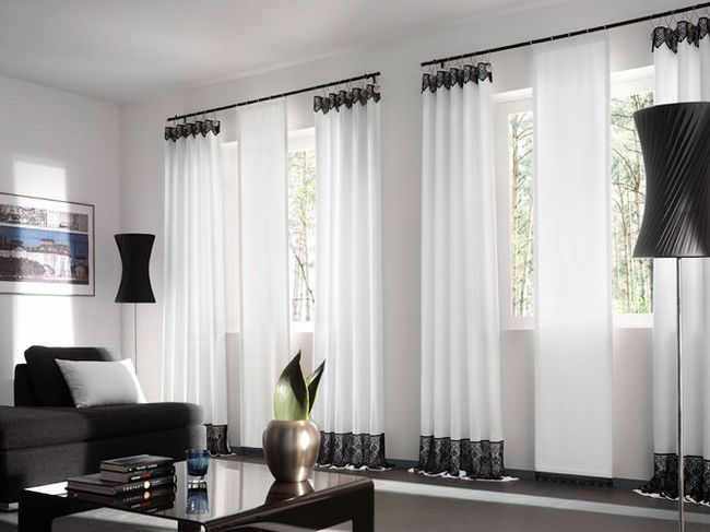 Фото - Розробка дизайну штор в вітальню