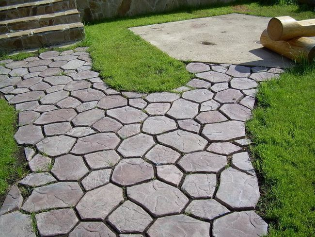 Фото - Рецепт бетону для тротуарної плитки