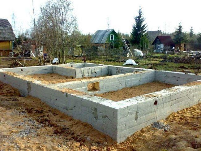Фото - Рекомендації зі зведення бетонного фундаменту